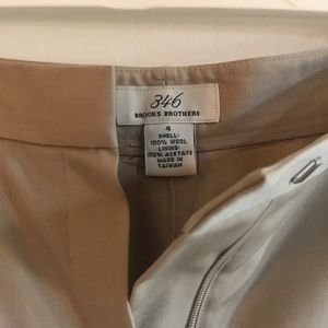 Brooks Brothers Pleated and Cuffed Pants